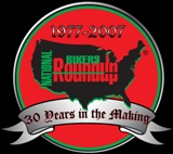 Click logo to enter National Bikers Roundup site